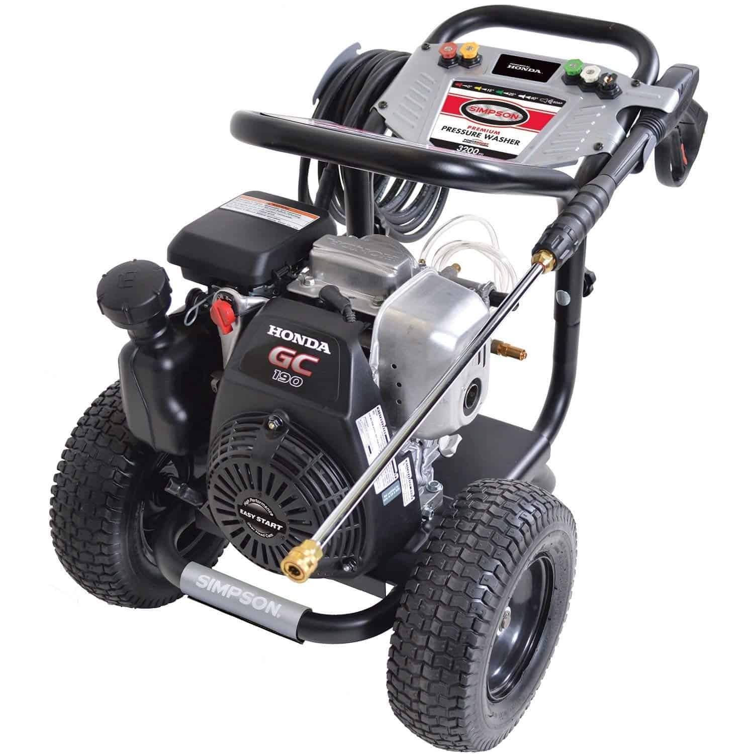 Simpson MegaShot 3200 PSI, Direct Drive Gas Powered Pressure Washer – MSH3224R