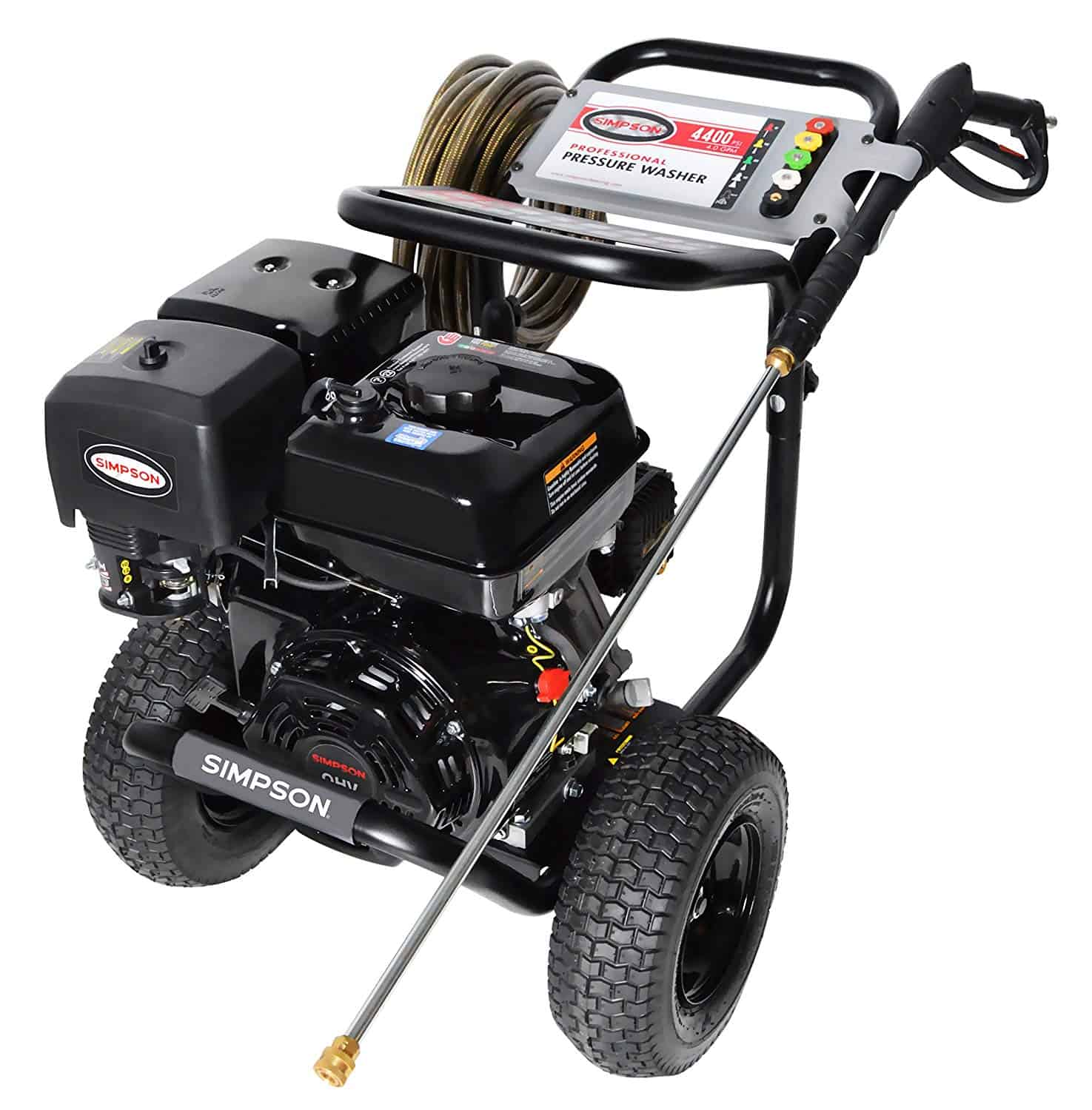 Simpson Cleaning 60843 Powershot 4400Psi Gas Pressure Washer