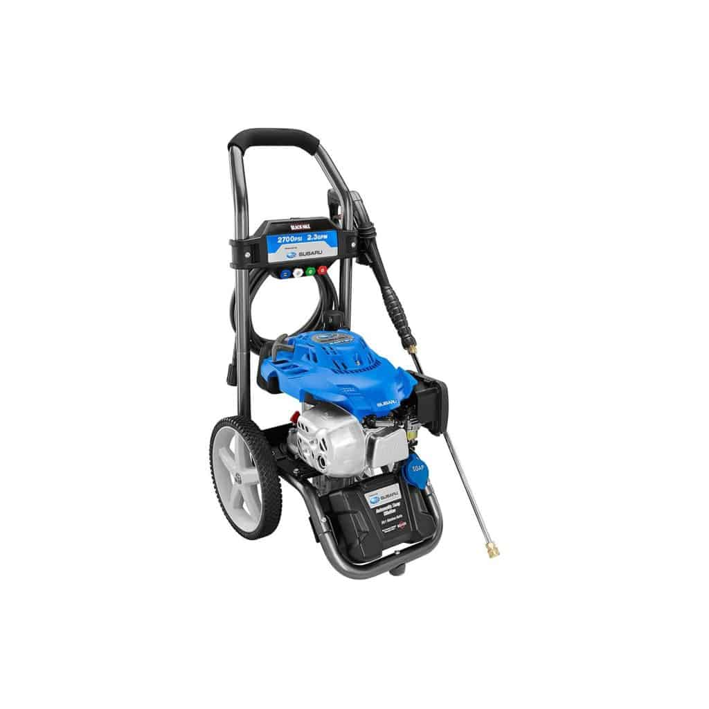 Black Max 2700 PSI Subaru Pressure Washer