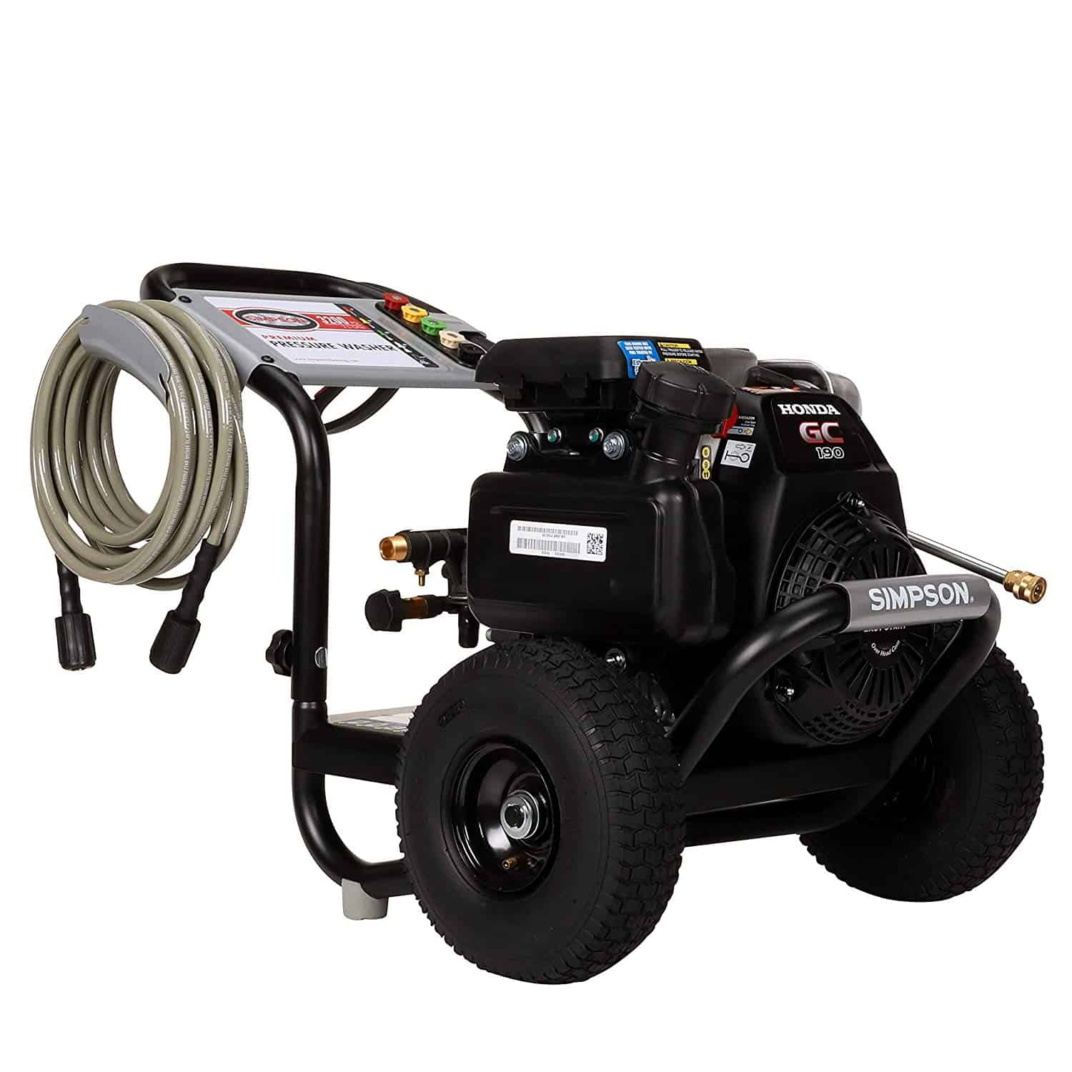 Simpson Cleaning MSH3125-S 3100 Gas Pressure Washer